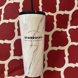 Starbucks Marble Tumbler